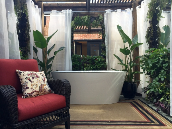 Greener By Design Outdoor Space at Kips Bay Decorator Show House 2015