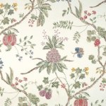 Scalamandre La Perouse Wallpaper - White