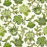 Schumacher Fabric - Hothouse Flowers - Verdance