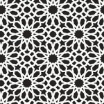 Schumacher Wallpaper - Agadir Screen - Noir