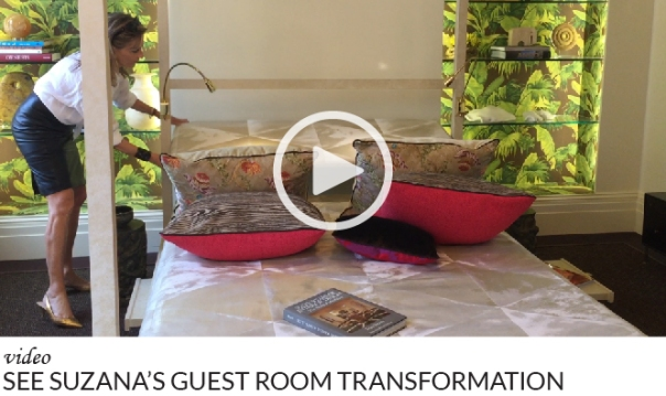 Guest Room Transformation Video featuring Suzana from McMillen Interiors