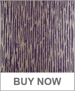 Purple Metallic Wallpaper - Clarke and Clarke - Cameo Damson