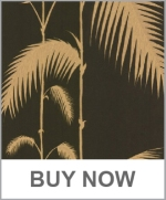 Cole and Son PALM LEAVES BLACK Wallpaper