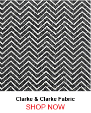 Clarke and Clarke Creek Charcoal Fabric 190717