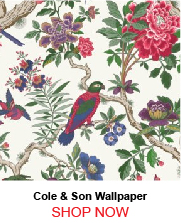 Cole and Son 99 12050 Fontaine Bleau Fuchsia Wallpaper 180487