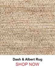 Dash and Albert Natural Jute Woven Rug
