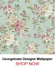 Georgetown Designs PN0436 Tropical Flower Wallpaper 255110
