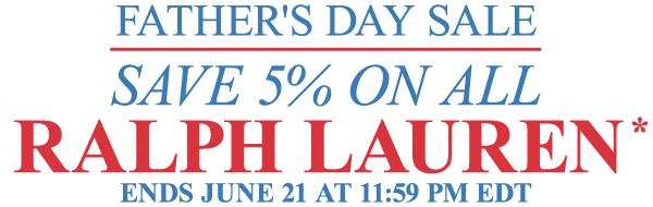 Ralph Lauren Sale - Father's Day