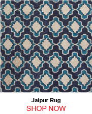 Jaipur Cat22 Temple Blue Ivory Rug 262147