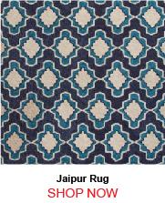 Jaipur Cat22 Temple Blue Ivory Rug 262147