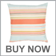 Jaipur Od Deck Chair Stripe Blue Pink Pillow