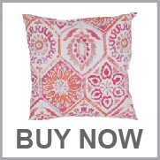 Jaipur Od Summer Breeze Pink Red Pillow
