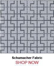 Schumacher Bleecker Twilight Fabric 23359