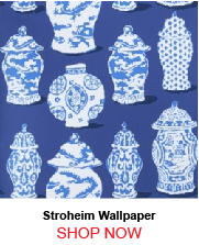 Stroheim Canton Cobalt Blue Wallpaper 186725