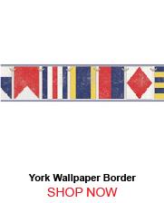 York NY4842BD Sailing Flags Borders 260190