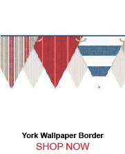 York NY4904BD Striped Pennant Border 260219