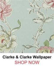 Clarke & Clarke Clarisse WP Duck Egg Wallpaper