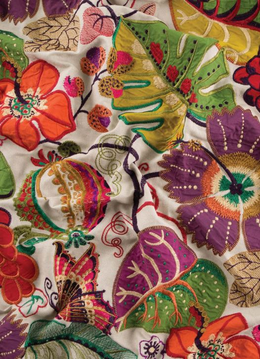 G P and J Baker Langdale Fabric Collection Botanical Garden