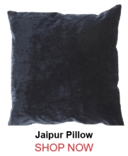 Jaipur Luxe Black Pillow