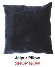 Jaipur Luxe Black Pillow