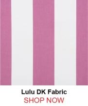 Lulu DK Lucia Raspberry Fabric