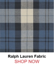 Ralph Lauren lcf65546f Summer Cottage Plaid Indigo fabric 121796