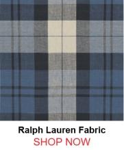 Ralph Lauren lcf65546f Summer Cottage Plaid Indigo fabric 121796