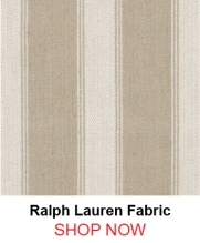 Ralph Lauren lfy65303f Footpath Stripe Flax fabric 122360