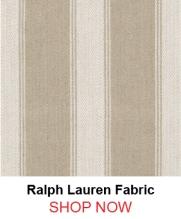 Ralph Lauren lfy65303f Footpath Stripe Flax fabric 122360