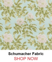 Schumacher Manor Rose Breeze Fabric