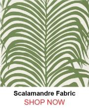 Schumacher Zebra Palm Jungle Wallpaper